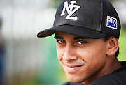 Jason Matthews.<br /> New Zealand Diamond Blacks Baseball Team headshots.Llloyd Elsmore Park, Pakuranga, Auckland, New Zealand. 4 February 2016.<br /> Copyright photo: Andrew Cornaga / www.photosport.nz