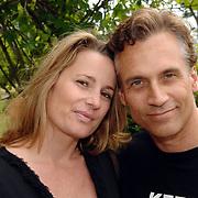 NLD/Amsterdam/20070509 - CD presentatie Bart Bosch, Robert Schoemacher en zwangere partner Claudia van Zweden