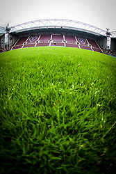 Tynecastle Stadium, home of Hearts FC.<br /> ©Michael Schofield.