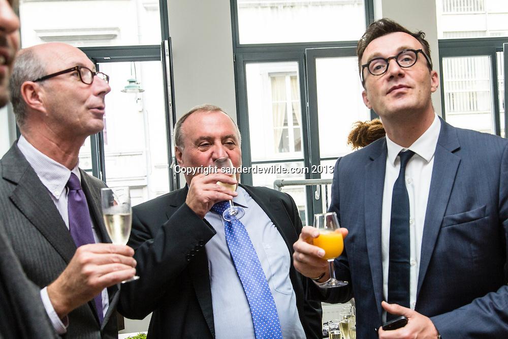 Brussel 12 september 2013 Br(ik opent nieuwe Br(ikHuis Wolvengracht  in aanwezigheid van minister Pascal Smet, in de Vlaamse regering bevoegd voor Brussel. rondleiding aan Wolvengracht 23-25 te 1000 Brussel.
