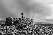 Eskdale from Scafell Pike summit
