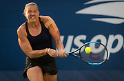 Kaia Kanepi of Estonia in action during her second-round match at the 2018 US Open Grand Slam tennis tournament, at Billie Jean King National Tennis Center in Flushing Meadow, New York, USA, August 29th 2018, Photo Rob Prange / SpainProSportsImages / DPPI / ProSportsImages / DPPI