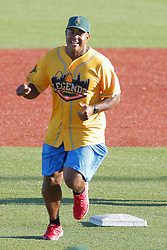 29 July 2017: Brian Jordan  - Legends Baseball game sponsored by the Normal CornBelters at Corn Crib Stadium on the campus of Heartland Community College in Normal Illinois
