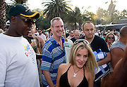 DJ Fatboy Slim plays at H2O water park, Johanesburg