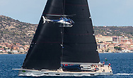 R1 or Ribelle a 32.50m long Sloop belongs to Salvatore Trifirò won its class (Supermaxi) in the Rolex Maxi Cup 2017 race organised by the Yacht Club Costa Smeralda (YCCS) in Porto Cervo, Costa Smeralda, Sardinia.
