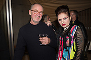 GARY HUME, PRINCESS JULIA, Miss Sue Webster hosts the launch of her book <br /> 'I Was a Teenage Banshee' The Mole House , Dalston. 17 October 2019