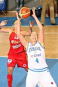 DESCRIZIONE : Ortona Italy Italia Eurobasket Women 2007 Italia Spagna Italy Spain <br /> GIOCATORE : Kathrin Ress <br /> SQUADRA : Nazionale Italia Donne Femminile EVENTO : Eurobasket Women 2007 Campionati Europei Donne 2007 <br /> GARA : Italia Spagna Italy Spain <br /> DATA : 29/09/2007 <br /> CATEGORIA : Rimbalzo <br /> SPORT : Pallacanestro <br /> AUTORE : Agenzia Ciamillo-Castoria/E.Castoria Galleria : Eurobasket Women 2007 <br /> Fotonotizia : Ortona Italy Italia Eurobasket Women 2007 Italia Spagna Italy Spain <br /> Predefinita :