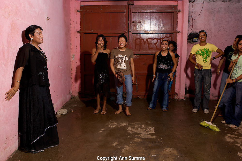 "Muxe (transgender) of San Blas, in the Isthmus of Oaxaca, Mexico consider themselves to be a ""third sex."""