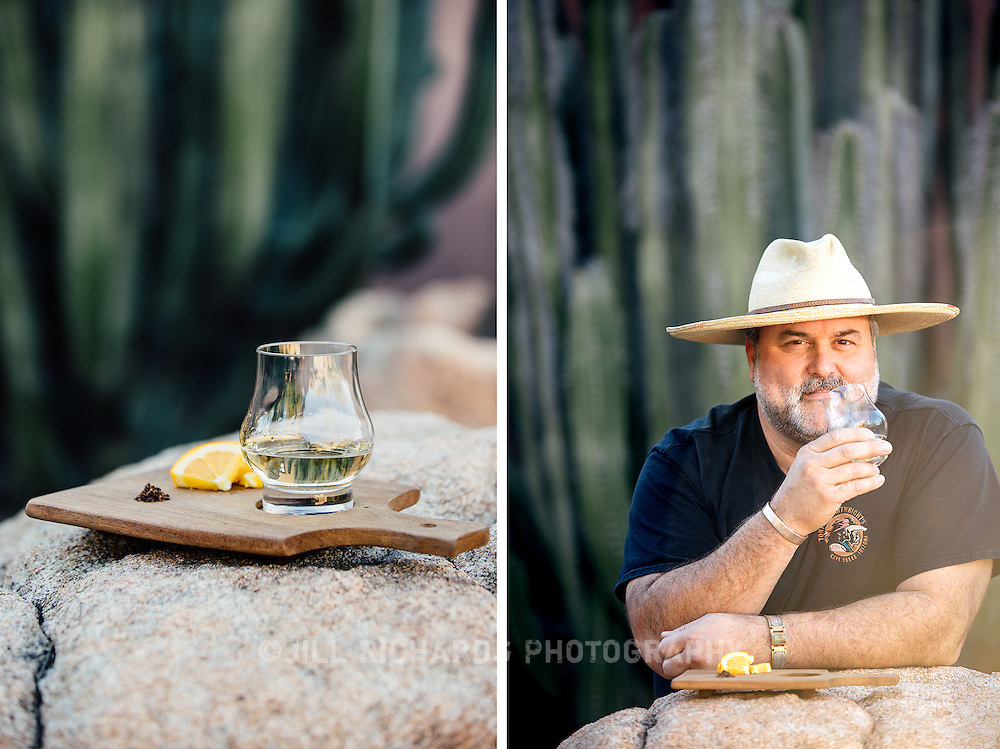 Eric Flatt is co-owner of Cave Creek's Tonto Bar & Grill, which features the Valley's largest mezcal list. He shares why he's in love with the stuff.