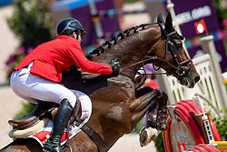 Muff Werner, SUI, Daimler<br /> Tryon - FEI World Equestrian Games™ 2018<br /> Springen Zeitspringprüfung Teamwertung Einzelwertung 1 Runde<br /> 19. September 2018<br /> © www.sportfotos-lafrentz.de/Dirk Caremans