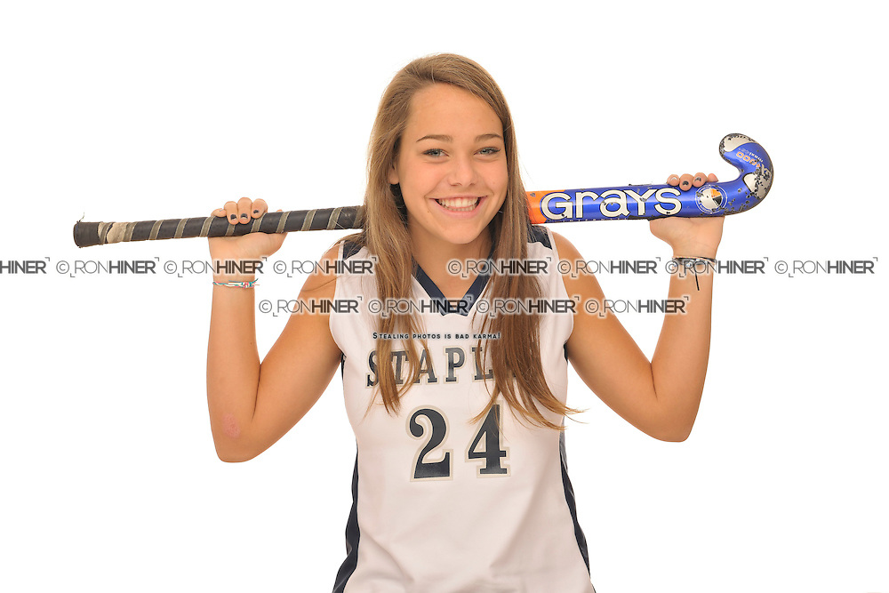 Staples High School Field Hockey..Senior portraits.Blaney Rotanz (SR)(C).
