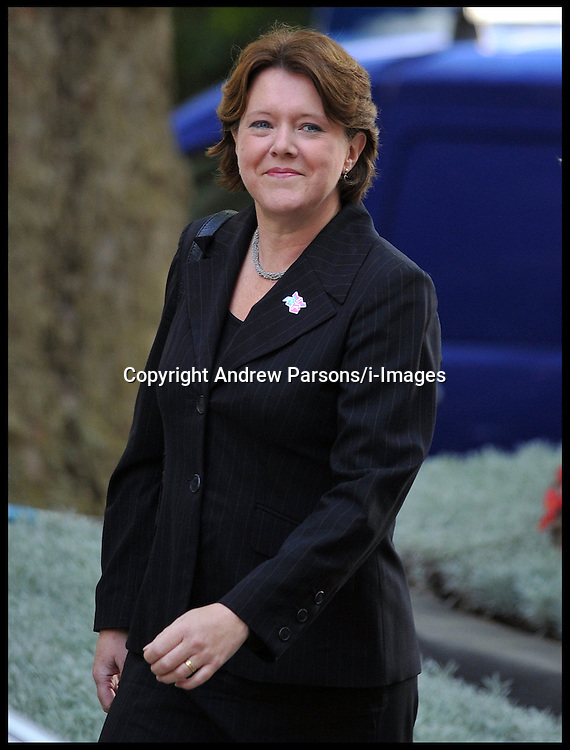 Maria Miller arrives at No10 Downing on the day of the 1st Coalition Government Cabinet reshuffle, London, Tuesday September 4, 2012 Photo Andrew Parsons/i-Images<br />
