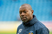 Kilmarnock assistant manager, Alex Dyer before the Ladbrokes Scottish Premiership match between Kilmarnock FC and Heart of Midlothian FC at Rugby Park, Kilmarnock, Scotland on 23 November 2019.