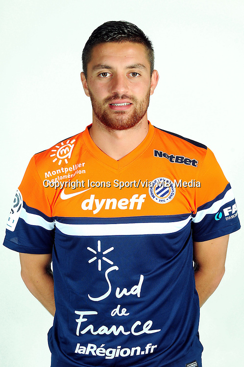 Anthony MOUNIER - 02.09.2013 - Presentation des joueurs de Montpellier - <br /> Photo : / Icon Sport