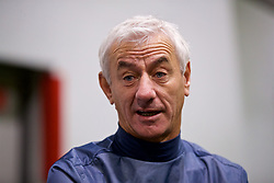 LIVERPOOL, ENGLAND - Wednesday, February 7, 2018: Ian Rush during a media session at the Liverpool Academy ahead of the LFC Foundation charity match between a Liverpool FC Legends team and FC Bayern Munich Legends. (Pic by David Rawcliffe/Propaganda)