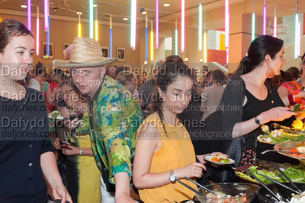 BOB AND ROBERTA SMITH, Tate Summer party. Tate Britian, Millbank. London. 28 May 2012