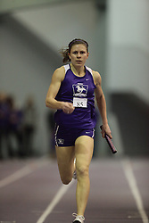 London, Ontario ---10-01-23---  Jen Cotten of the Western Mustangs competes at the 2010 Don Wright Team Challenge in London, Ontario, January 23, 2010..GEOFF ROBINS Mundo Sport Images