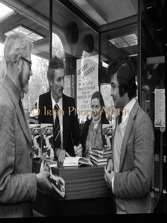 Derek Dougan's name goes in the book.<br />