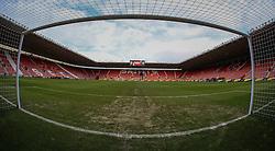 Through the goal at St Mary's Stadium - Mandatory by-line: Jason Brown/JMP - 07966386802 - 16/01/2016 - FOOTBALL - Southampton, St Mary's Stadium - Southampton v West Bromwich Albion - Barclays Premier League