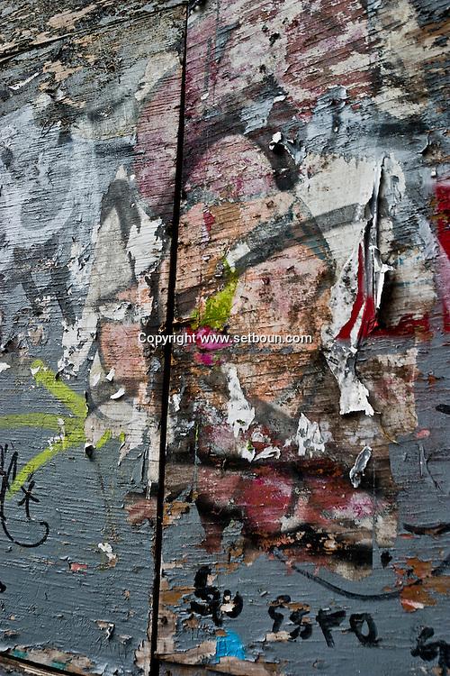 New York. Soho street life, street art, New York - United States  / Soho scenes de rues, art des rues  New York - Etats unis