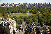 View of Central Park from 15 West 72nd Street, 36th floor