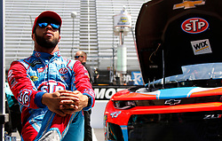April 13, 2018 - Bristol, TN, U.S. - BRISTOL, TN - APRIL 13:  #43: Darrell Wallace Jr., Richard Petty Motorsports, Chevrolet STP during practice for the 58th annual Food City 500 on April 13, 2018 at Bristol Motor Speedway in Bristol, Tennessee (Photo by Jeff Robinson/Icon Sportswire) (Credit Image: © Jeff Robinson/Icon SMI via ZUMA Press)