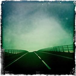 Skye bridge..Hipstamatic images taken on an Apple iPhone..©Michael Schofield.