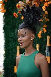 June 3, 2017 - Jersey City, NJ, USA - June 3, 2017 Jersey City, NJ..Flaviana Matata attending the Veuve Cliquot Polo Classic at Liberty State Park on June 3, 2017 in Jersey City, NJ. (Credit Image: © Kristin Callahan/Ace Pictures via ZUMA Press)