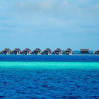 Alberto Carrera, Resort Rooms, Maldivian Island, North Male Atoll, Maldives, Indian Ocean, Asia