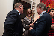 LADY MONSON, Drinks party given by Basia and Richard Briggs,  Chelsea. London. SW3. 13 February 2014.