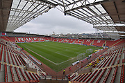 Rotherham United ground before the EFL Sky Bet League 1 match between Rotherham United and Peterborough United at the AESSEAL New York Stadium, Rotherham, England on 30 March 2018. Picture by Ian Lyall.