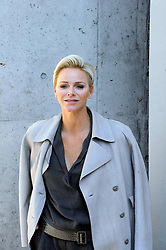 Princess Charlene de Monaco outside of the fashion show at Armani Theatre during the Milan Fashion Week Collection 2018 on September 22, 2017 in Milan, Italy. Photo by Fotogramma/ANDZ/ABACA PRESS.COM