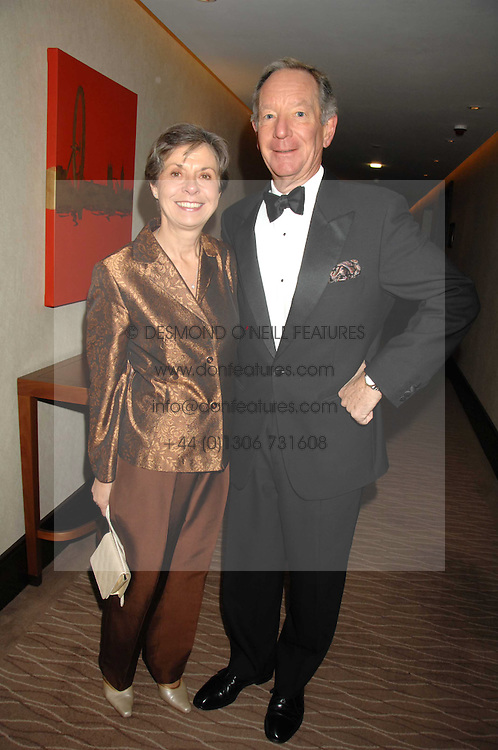 MICHAEL & CHRISTINE BUERK at the 2007 Costa Book Awards held at The Intercontinental Hotel, One Hamilton Place, London W1 on 22nd January 2008.<br /> <br /> NON EXCLUSIVE - WORLD RIGHTS (EMBARGOED FOR PUBLICATION IN UK MAGAZINES UNTIL 1 MONTH AFTER CREATE DATE AND TIME) www.donfeatures.com  +44 (0) 7092 235465