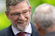 Craig Levein, manager of Heart of Midlothian before the Ladbrokes Scottish Premiership match between Hibernian FC and Heart of Midlothian FC at Easter Road Stadium, Edinburgh, Scotland on 29 December 2018.
