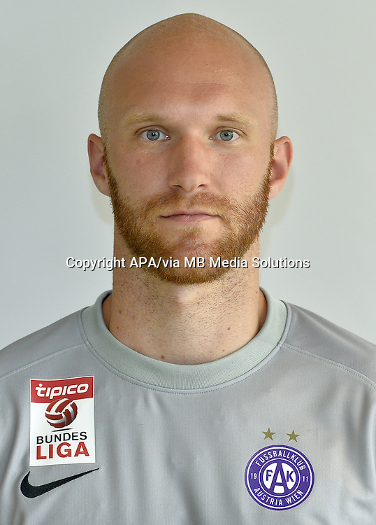 Vienna - Portraits of the football players of the Austrian football club FK Austria Wien on 1st July 2015.   PICTURE: Robert Almer - 20150701_PD2558