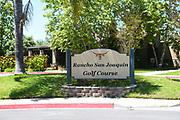 Rancho San Joaquin Public Golf Course Signage