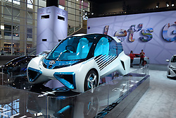 09 February 2017: Toyota FCV Plus Alternative Fuel Cell vehicle<br /> <br /> First staged in 1901, the Chicago Auto Show is the largest auto show in North America and has been held more times than any other auto exposition on the continent.  It has been  presented by the Chicago Automobile Trade Association (CATA) since 1935.  It is held at McCormick Place, Chicago Illinois<br /> #CAS17