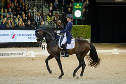 Scholtens Emmelie, NED, Apache<br /> The Dutch Masters<br /> Indoor Brabant - 's Hertogen bosch 2018<br /> © Hippo Foto - Dirk Caremans<br /> 10/03/2018