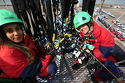 UK ENGLAND SHEERNESS 21SEP17 - Greenpeace actvists scaled a fence and disable imported VW and Audi diesel cars by lifting the bonnet and removing the keys. <br /> <br /> <br />jre/Photo by Jiri Rezac<br /><br /> <br /> © Jiri Rezac 2017