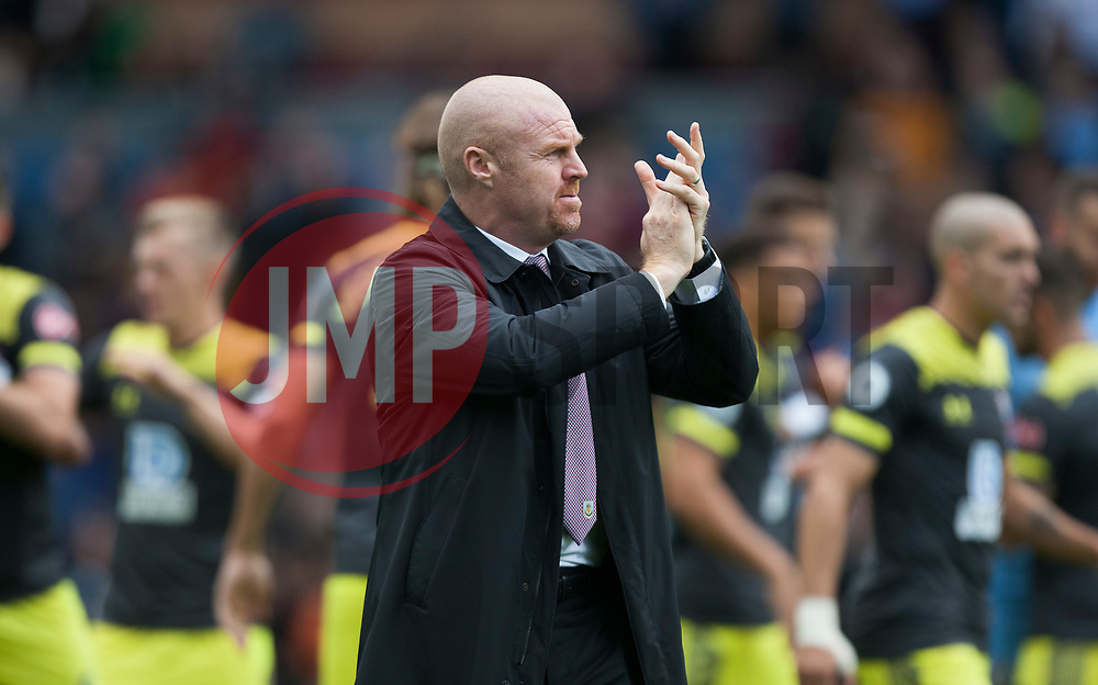 Burnley manager Sean Dyche - Mandatory by-line: Jack Phillips/JMP - 10/08/2019 - FOOTBALL - Turf Moor - Burnley, England - Burnley v Southampton - English Premier League