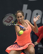 Madison Keys (USA) on Day Three of the WTA Generali Ladies Linz Open at TipsArena, Linz<br /> Picture by EXPA Pictures/Focus Images Ltd 07814482222<br /> 12/10/2016<br /> *** UK & IRELAND ONLY ***<br /> <br /> EXPA-REI-161012-5013.jpg