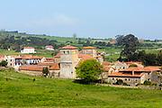 SANTILLANA DEL MAR, SPAIN - April 20 2018 - Santillana del Mar, Cantabria, Spain.