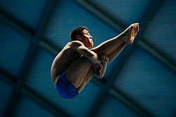 Jordan Houlden from City of Leeds Diving Club competes in the Mens 3m Springboard Final - Mandatory byline: Rogan Thomson/JMP - 11/06/2016 - DIVING - Ponds Forge - Sheffield, England - British Diving Championships 2016 Day 2.