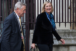 "London, UK. 25 September, 2019. Sarah Wollaston, Liberal Democrat MP for Totnes, returns to Parliament on the day after the Supreme Court ruled that the Prime Minister's decision to suspend parliament was ""unlawful, void and of no effect"". Credit: Mark Kerrison/Alamy Live News"
