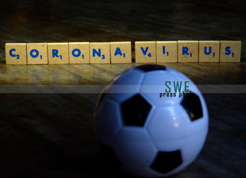 Rio de Janeiro-Brazil March 26, 2020, dark times in world football with the arrival of the coronavirus (covid19)