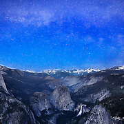 Yosemite at Night, Yosemite National Park