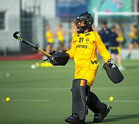 BRUXELLES (Belgium) -  Aisling D'HOOGHE (Bel)     during Hockey World League women (semi final competition)  BELGIUM v AUSTRALIA. COPYRIGHT KOEN SUYK