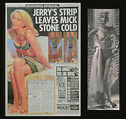 Jerry Hall appears in the West End Production of The Graduate.Opening night. One scene she appears naked.Mike Jagger was in the audience.The role was also played by Kathleen Turner..PIC JAYNE RUSSELL.30.07.2000.Appeared in The Sun 01.08.2000