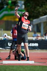 SCHULZE Matthias, GER, Shot Put, F46, 2013 IPC Athletics World Championships, Lyon, France
