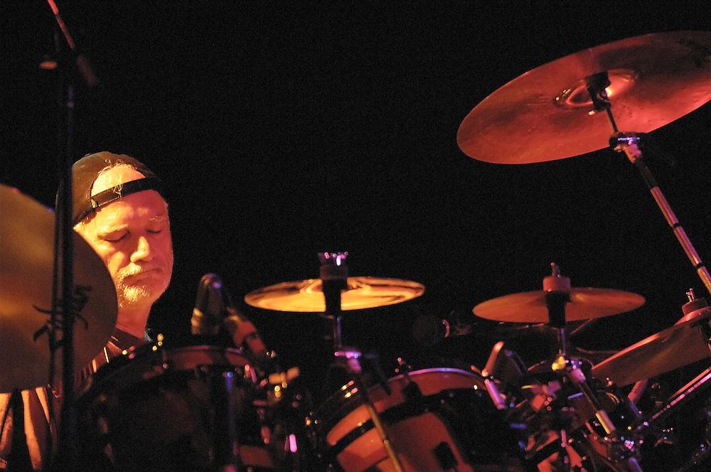 Bill Kreutzmann plays with the Rhythm Devils at Higher Ground in South Burlington, Vermont.